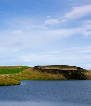 Craters, Lake Myvatn A by