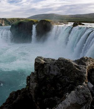 Godafoss Falls, Iceland by