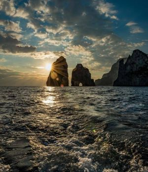 Faraglioni Rock Sunset by